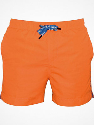 Badkläder - Salming Nelson Original Swim Shorts Orange