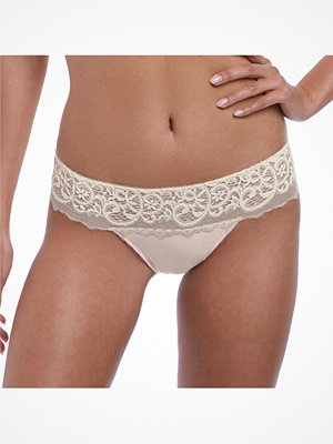 Wacoal Lace Essentials Tanga Creme