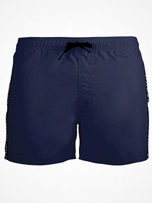 Badkläder - Muchachomalo Solid Swimshorts Navy-2