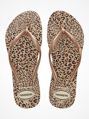 Tofflor - Havaianas Slim Animals Gold