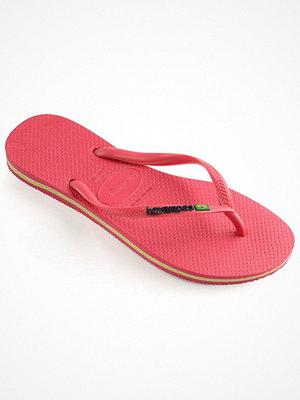 Tofflor - Havaianas Slim Brasil Logo Flamingo