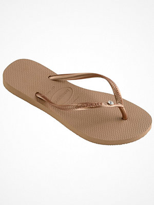 Havaianas Slim Crystal Glamour SW Gold