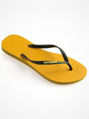 Tofflor - Havaianas Slim Brasil Logo Yellow