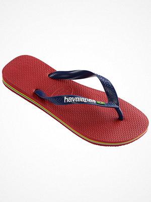 Tofflor - Havaianas Brasil Logo Red