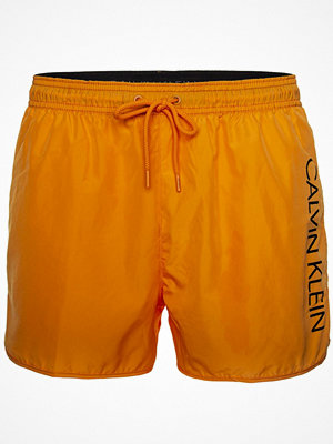 Calvin Klein Core Solids Short Runner Swim Shorts Orange