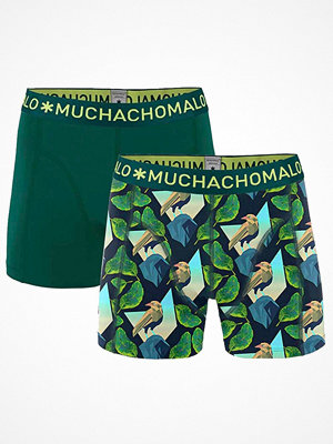 Muchachomalo 2-pack Solid Digital Nature Boxer Multi-colour