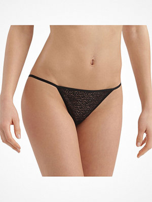 DKNY Modern Lace String Bikini Black