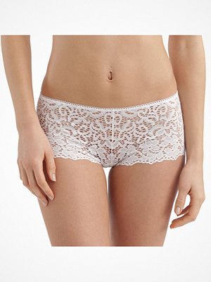 DKNY Classic Lace Cheeky Boyshort White