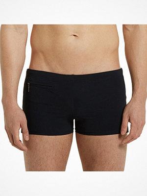 Badkläder - Marc O'Polo Marc O Polo Solids Swim Shorts 146442 Darkblue