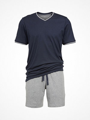 Marc O'Polo Marc O Polo Short Pyjamasset  Grey/Blue