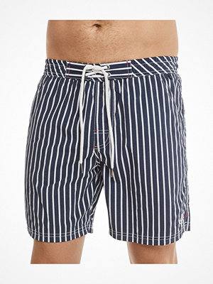Marc O'Polo Marc O Polo Printed Swimshorts Grey/Blue