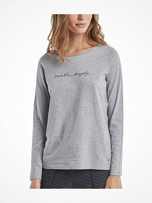 Marc O'Polo Marc O Polo Mix Program Long Shirt Crewneck 160416 Grey