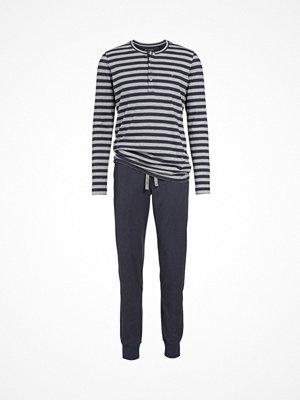 Marc O'Polo Marc O Polo Long Pyjamasset Grey