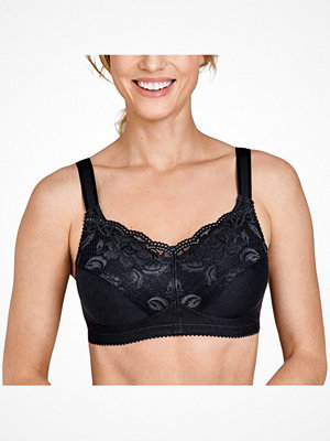 Miss Mary of Sweden Miss Mary Prosthetic Non-Wired Bra Black