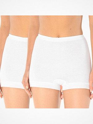 Schiesser 2-pack Original Classics Fine Rib Shorts White
