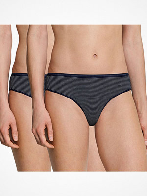 Schiesser 2-pack Modal Essentials Tai Briefs Darkblue
