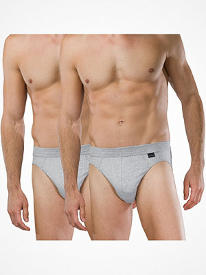 Kalsonger - Schiesser 2-pack Authentic Rio Briefs Grey