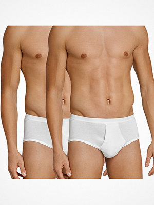 Schiesser 2-pack Original Classics Double Rib Briefs White