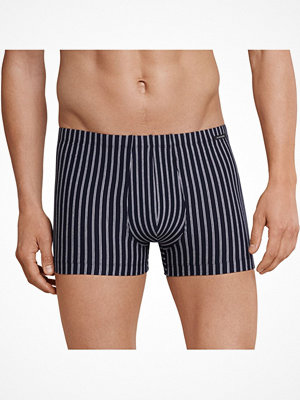 Kalsonger - Schiesser Day and Night Stripe Boxer Brief 3XL Darkblue