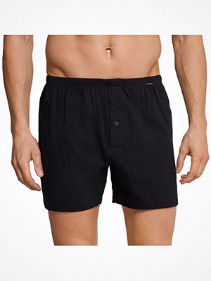 Schiesser Essentials Jersey Boxers Black