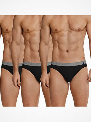 Schiesser 3-pack 95-5 Rio Briefs Black