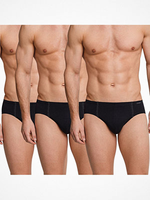 Kalsonger - Schiesser 3-pack Essentials Super Mini Briefs Black