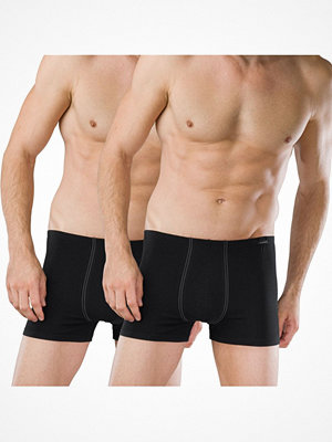 Kalsonger - Schiesser 2-pack Essentials Boxer Briefs Black