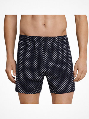 Kalsonger - Schiesser Day and Night Printed Boxershorts Darkblue