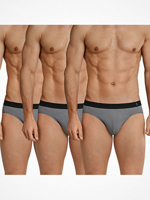 Kalsonger - Schiesser 3-pack 95-5 Rio Briefs Grey