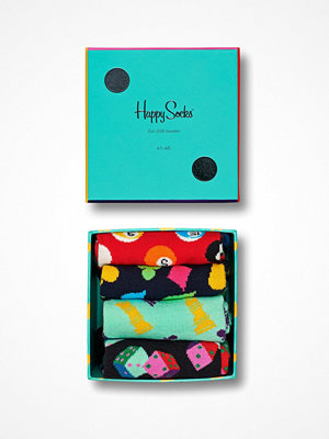 Happy Socks 4-pack Happy Socks Game Night Gift Box Multi-colour