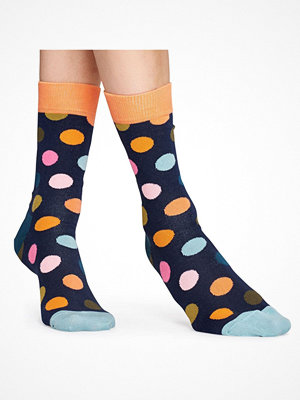 Happy Socks Happy Socks Big Dot Sock Blue Pattern