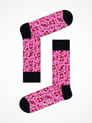 Happy Socks Happy Socks City Jazz Sock Pink Pattern
