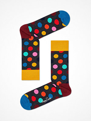 Happy Socks Happy Socks Big Dot Sock Grey