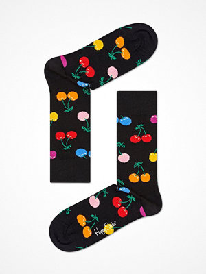 Happy Socks Happy Socks Cherry Sock Black pattern-2