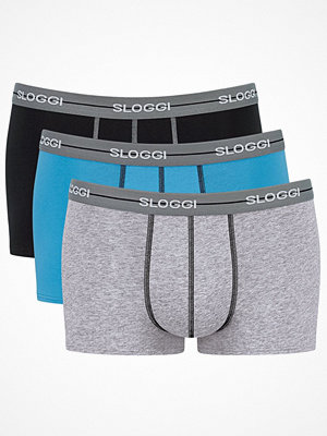 Sloggi 3-pack Men Start Hipster C3P Grey/Black