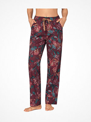 Triumph Lounge Me Cotton Mix and Match Flannel  Wine red