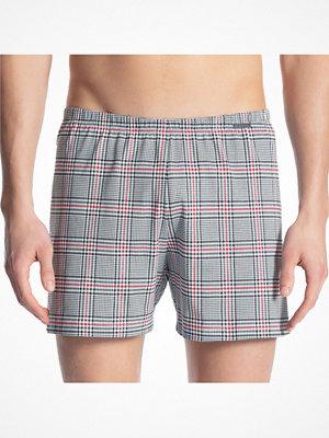 Calida Prints Men Boxer Shorts Black/Checked
