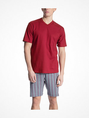 Calida Relax Imprint 1 Short Pyjama Red