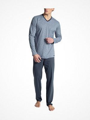 Calida Relax Streamline 1 Pyjama Blue Striped