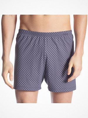 Calida Prints Men Boxer Shorts Blue Pattern
