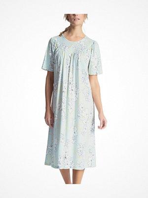 Calida Soft Cotton Nightshirt 34000 Blue w Flower