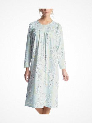 Calida Soft Cotton Nightshirt 33000 Blue w Flower