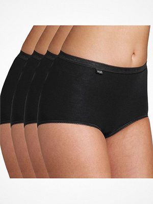 Sloggi 4-pack Basic Plus Maxi  Black