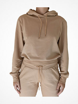 Bread and Boxers Hoodie By Biderman  Beige
