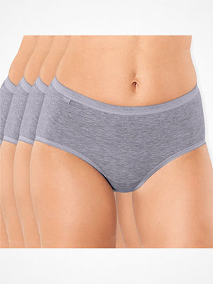 Sloggi 4-pack Basic Plus Midi Grey