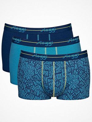 Sloggi 3-pack Men Start Hipster C3P Blue/Green