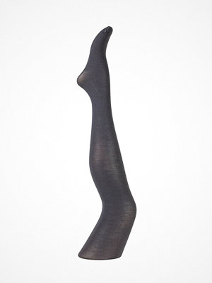 Strumpbyxor - Pierre Robert Thin Wool Tights Grey