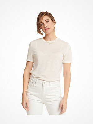 Pierre Robert X Jenny Skavlan Wool Wide T-Shirt Creme-2