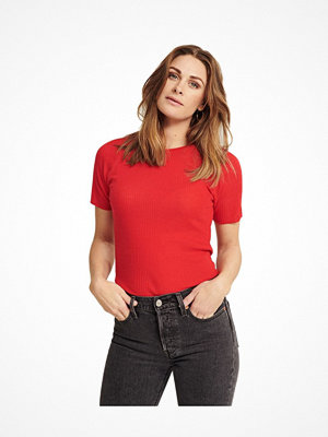 Pierre Robert X Jenny Skavlan Wool T-Shirt Red