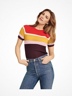Pierre Robert X Jenny Skavlan Wool Party T-Shirt Striped-2